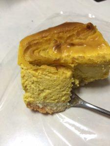 成城石井 かぼちゃチーズケーキ 食べた感想
