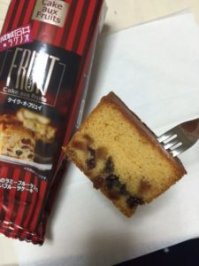 成城石井×ラグノオのケイク・ア・ブリュイ 食べてみた